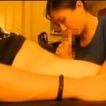 【無修正 個人撮影】外国人男性を悶絶させる日本人彼女のフェラ抜き素人カップル映像