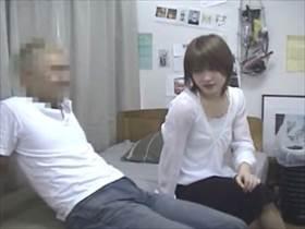 【素人 盗撮】可愛い女の子との部屋SEXを金髪男がこっそり隠し撮り