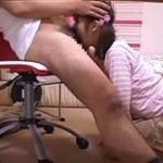 【素人 盗撮】教え子に根元までチンコを咥えさせ口内にザーメンをぶちまける鬼畜家庭教師