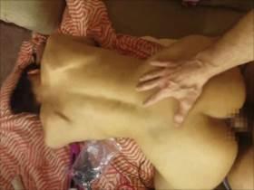 【無修正 個人撮影】熟年夫婦がバックでハメ撮りした生々しい営み映像!生挿入で膣外射精||夫婦個人撮影,ハメ撮り,人妻,個人撮影,夫婦,無修正,熟女,素人