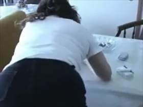 【個人撮影】当たり前になった母との禁断の交わりを息子がネット投稿した映像がこれ!生々しい喘ぎ声がヤバい